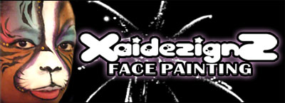 XAIDEZIGNZ Face Painting - One Serious Southpaw